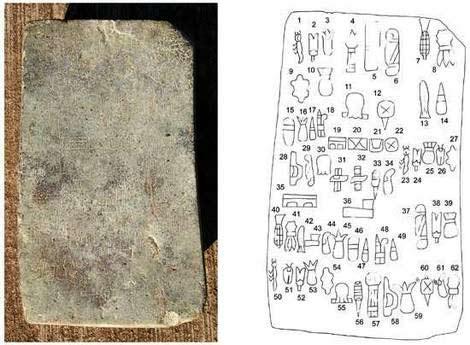 Phát hiện chữ viết cổ nhất châu Mỹ