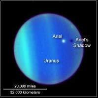 Hình ảnh đầu tiên về nhật thực trên sao Thiên vương
