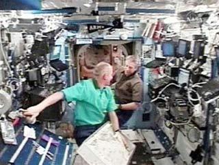 Rò rỉ chất độc trên trạm ISS