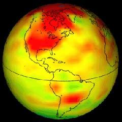 Nhiệt độ Trái đất có xu hướng nóng lên không đều