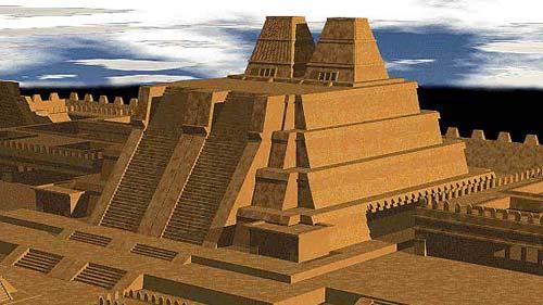 Phát hiện bệ thờ cổ tại ngôi đền cổ Aztec