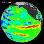 Hiện tượng El Nino đã xuất hiện lại âm thầm