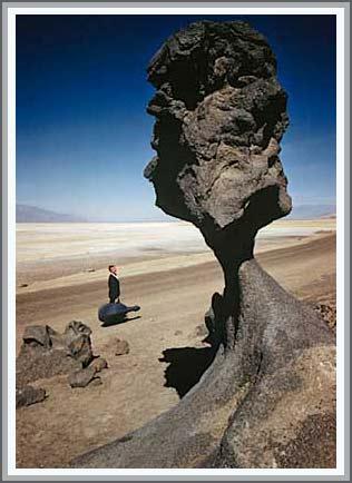 Nấm đá khổng lồ ở bang California, Mỹ