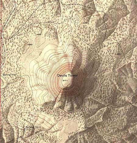 Tháp Quỷ ở bang Wyoming, Mỹ