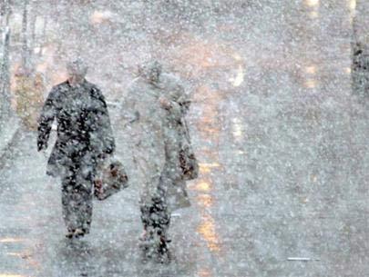 Bắc Mỹ chìm trong bão tuyết