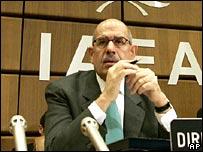 Giám đốc IAEA ElBaradei.