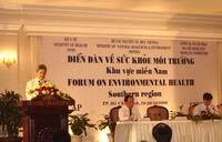 Diễn đàn Quốc gia về Sức khỏe môi trường: Tập trung thực hiện 6 vấn đề về sức khỏe môi trường