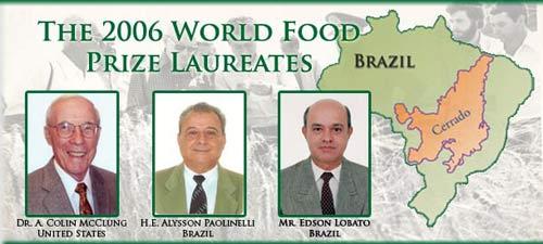 Vinh danh nỗ lực vực dậy ngành nông nghiệp Bzazil