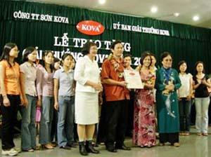 27 tập thể và cá nhân nhận Giải thưởng Kova