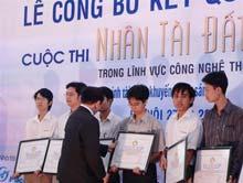"""19 sản phẩm vào chung kết """"Nhân tài đất Việt 2006"""""""