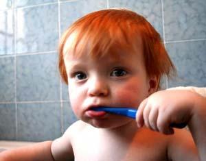 Sâu răng sữa ở trẻ nhỏ