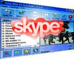 """""""Cha đẻ"""" Skype sắp khai trương dịch vụ Web TV"""
