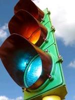 Đèn giao thông chuyển màu theo tình huống