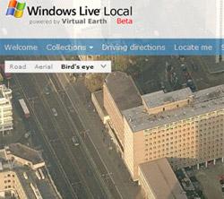 Microsoft cung cấp bản đồ trực tuyến 3D