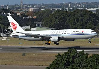 Một chiếc Boeing 767-300ER của Air China.