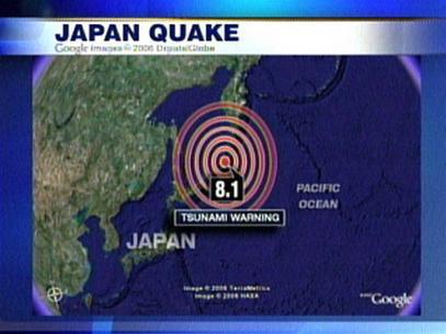 Động đất ngoài khơi Thái Bình Dương, Nga-Nhật phát cảnh báo sóng thần