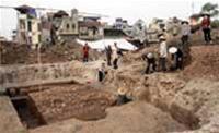 Phát hiện di tích khảo cổ thời Trần