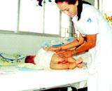 Trẻ tiêu chảy dễ bị hăm da