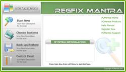 Sửa lỗi Windows dễ dàng bằng RegFix Mantra