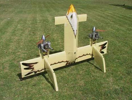 mô hình máy bay không người lái (UAV)
