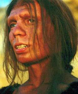Hoạ sĩ tái tạo khuôn mặt một người đàn bà Neanderthal
