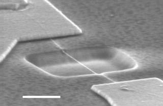 Chế tạo thành công sợi dây đàn nhỏ nhất thế giới