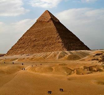 Ai Cập: Các khối đá xây kim tự tháp được đổ khuôn như bê-tông?