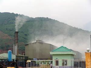 Kiểm soát từ xa khí thải nhà máy