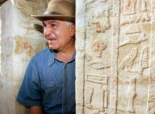 Phát hiện xác ướp thày lang Ai Cập