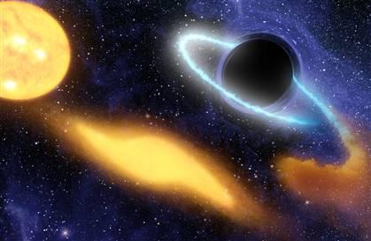 """Phát hiện hố đen """"nuốt chửng"""" ngôi sao cách Trái đất 4 tỷ năm ánh sáng"""