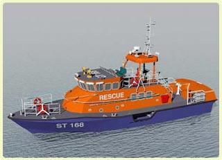 Chế tạo thành công tàu cứu nạn chạy trong bão cấp 12