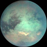 Phát hiện rặng núi to trên Titan của Thổ Tinh