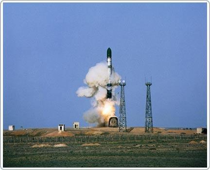 Nga thử tên lửa đạn đạo