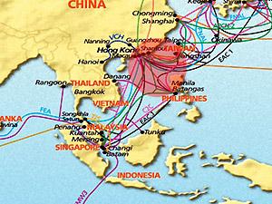 Kết nối Internet châu Á gián đoạn vì động đất tại Đài Loan
