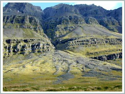 Cao nguyên ở Iceland