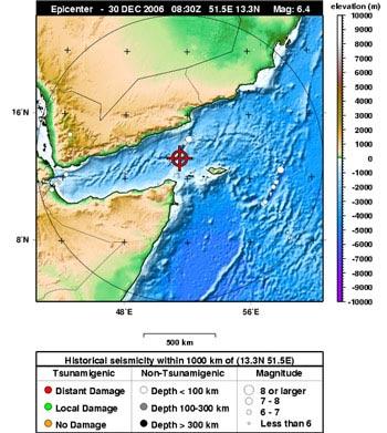 Động đất và cảnh báo sóng thần trên Ấn Độ Dương