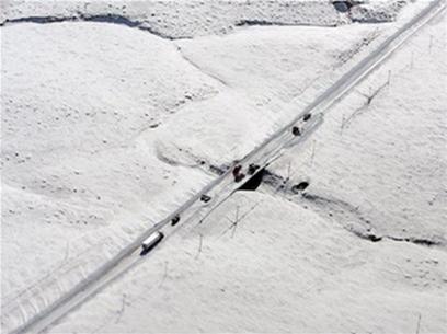 Mỹ: Miền trung chìm trong bão tuyết
