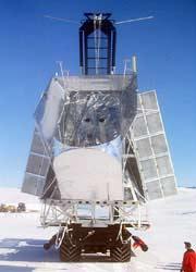 Thử nghiệm kính vọng khinh khí cầu BLAST trên bầu trời Nam cực