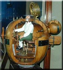 Chiếc tàu ngầm đầu tiên có hình quả trứng và chỉ có một người điều khiển.
