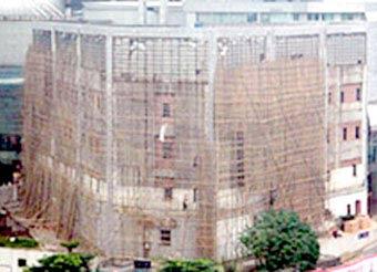 Phá hủy công trình cũ không gây ồn lẫn ô nhiễm