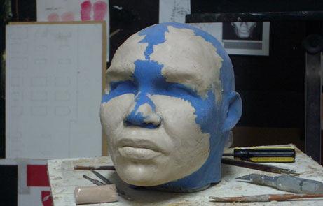 Tượng Adam được nặn theo mô hình 3D của máy tính