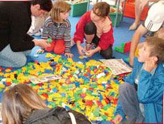 Trò chơi kích thích trí thông minh ở trẻ