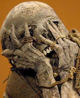 Triển lãm xác ướp cổ xưa ở Peru