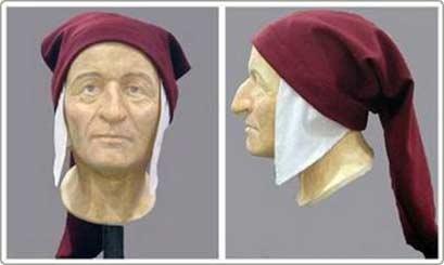 Tái tạo khuôn mặt nhà thơ Dante sau 700 năm