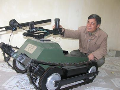 Robot rà mìn, chống khủng bố