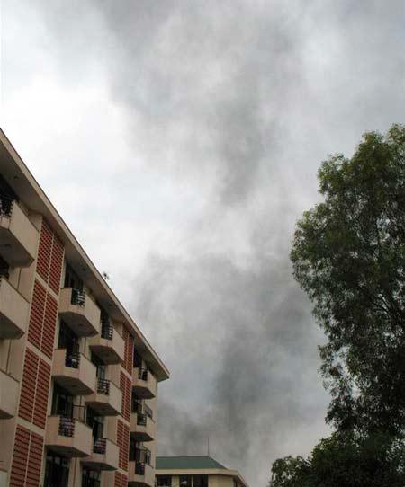 Làng Đại học Thủ Đức: Chìm trong khói bụi