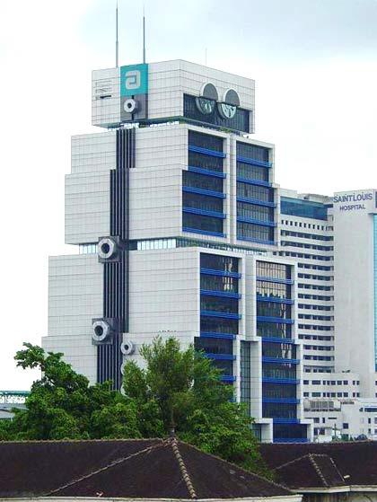 Ngân hàng Á Châu là cao ốc rất nổi tiếng ở Bangkok