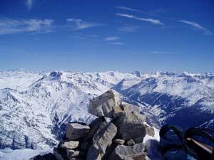 Alpes đối mặt với băng tan