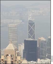 Ô nhiễm không khí ở Hongkong chạm mức nguy hiểm