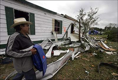 Bão lớn tàn phá Florida